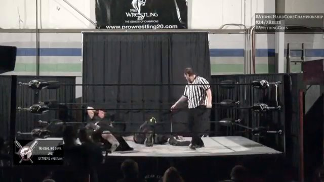 Fulton (OVE) vs. Zack Monstar - 7/27/2019 - Atomic Revolutionary Wrestling