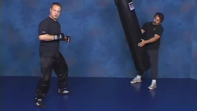 Hardcore Heavy Bag Training
