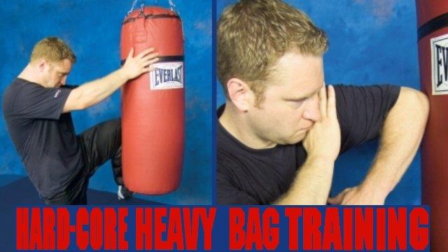 Hardcore Heavy Bag Training
