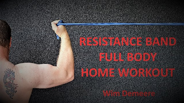 Resistance Band Full-Body Home Workout