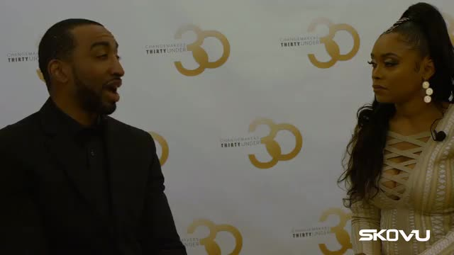 Mysonne Exclusive Interview @ 7th Annual Changemakers 30 Under 30 Awards