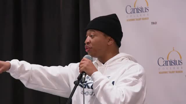 Shiggy Talks To The Youth @ Canisius ATS 2019 Black History Month Summit