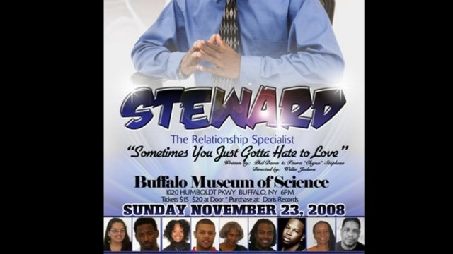 """Steward the Relationship Specialist"" Comedy Stage Play"