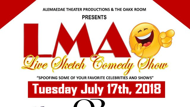 LMAO Live Sketch Comedy Show @ Oakk Room