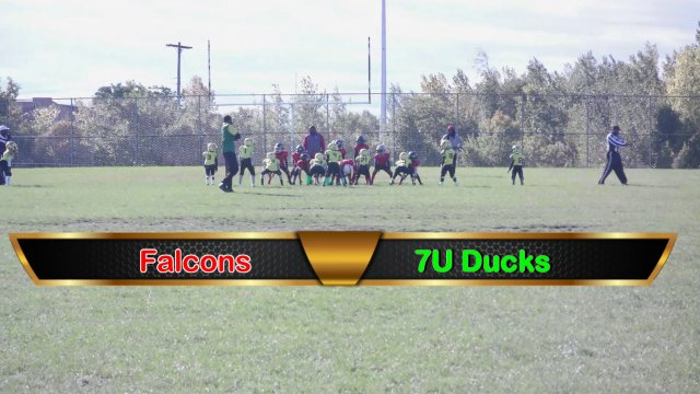 7u Ducks VS Falcons Sat Sept 29th