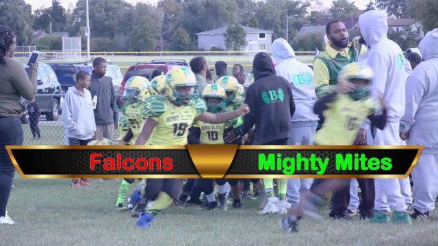 Mighty Mite Ducks VS Falcons Sat Sept 29th
