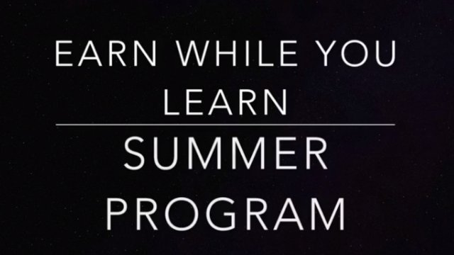 Earn While You Learn Summer Program Documentary