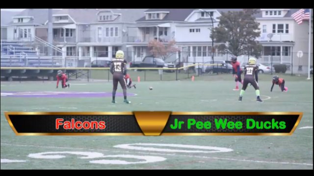 Jr Pee Wee Ducks VS Falcons Playoff Game Sat Oct 27th