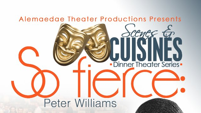 """So Fierce: Peter Williams"" Stage Play"