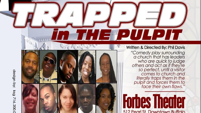 """Trapped in the Pulpit"" Stage Play"