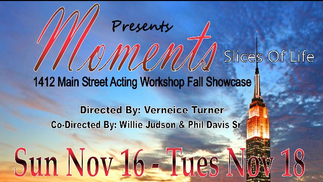 """Moments"" Actor's Showcase"