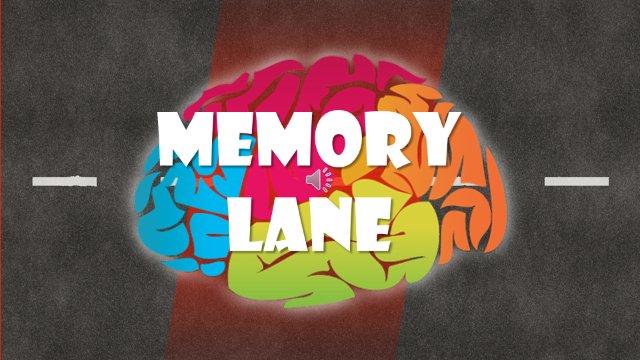"""Memory Lane Game Show"" Ep. 1: Sarah V. Sasiya"