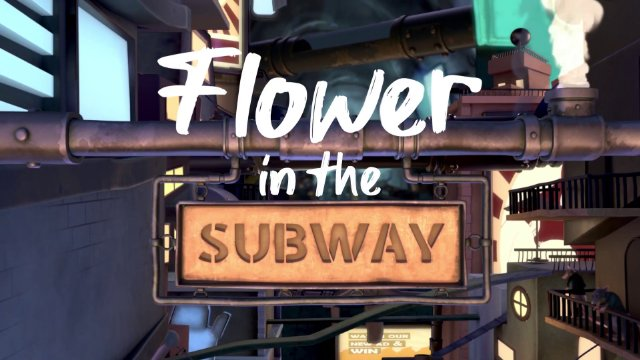 Flower in the Subway