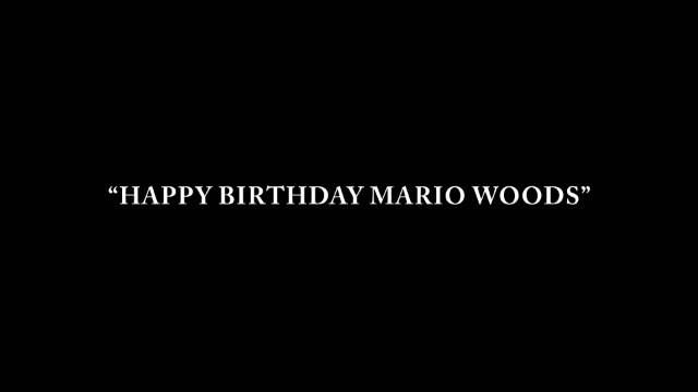 Happy Birthday Mario Woods