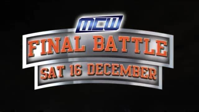 2017 - MCW Final Battle