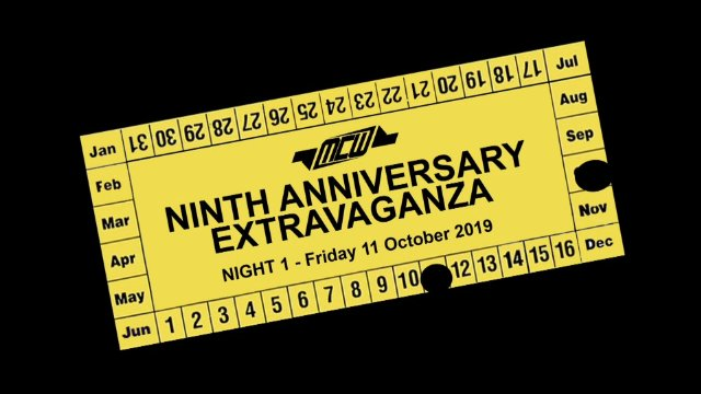 2019 - MCW Ninth Anniversary Extravaganza - Night 1