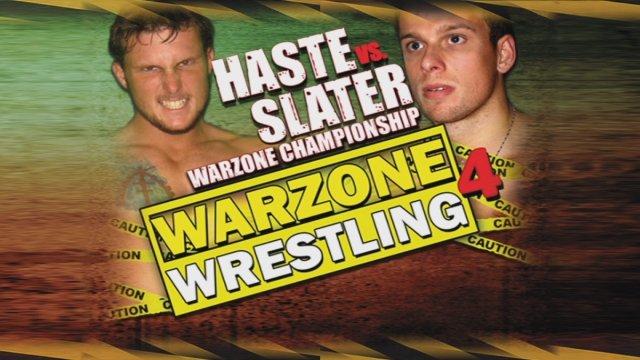 Warzone Wrestling 4 - Haste vs Slater