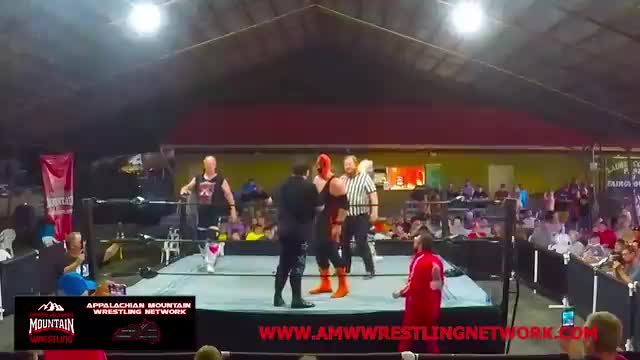 The Rock N Roll Express vs. The Family - AMW TAG TEAM CHAMPIONSHIP MATCH