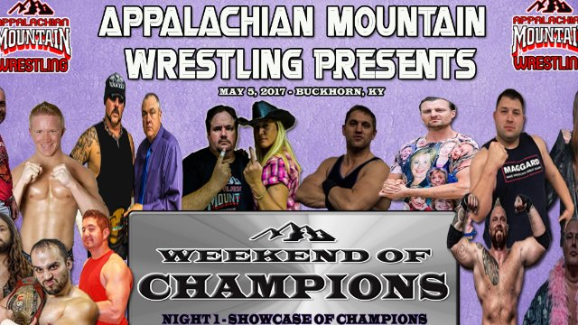 AMW WEEKEND OF CHAMPIONS 2017 Night 1