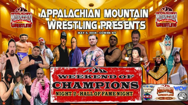 AMW WEEKEND OF CHAMPIONS 2018 Night 2