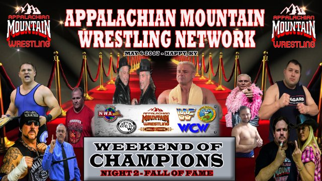 AMW WEEKEND OF CHAMPIONS 2017 NIGHT 2: HALL OF FAME NIGHT