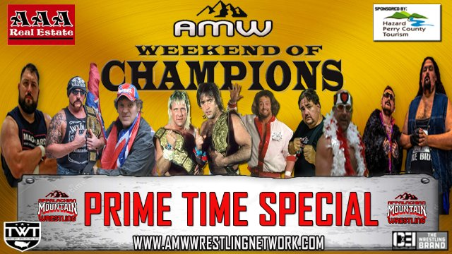 AMW PRIME TIME SPECIAL: WEEKEND OF CHAMPIONS 2019