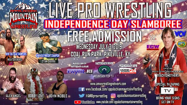 AMW INDEPENDENCE DAY SLAMBOREE 2019