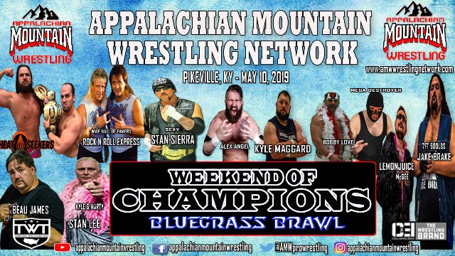 AMW WEEKEND OF CHAMPIONS 2019 NIGHT 2: BLUEGRASS BRAWL