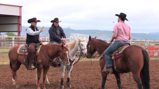 1611 Horsemanship for rodeo