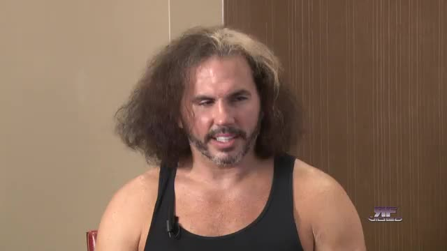 Reflections with Broken Matt Hardy