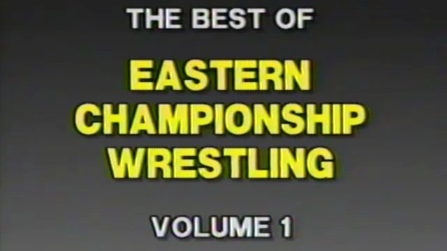 Best of Eastern Championship Wrestling Volume 1