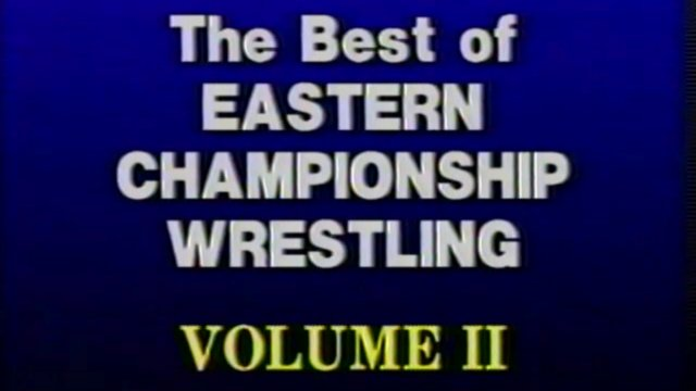 Best of Eastern Championship Wrestling Volume 2 - Bloodiest Matches
