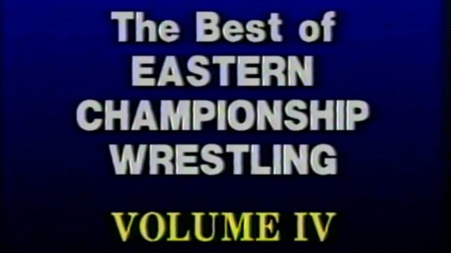 "Best of Eastern Championship Wrestling Vol. 4 - Jimmy ""Superfly"" Snuka"