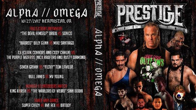 Prestige Wrestling 3: Alpha // Omega