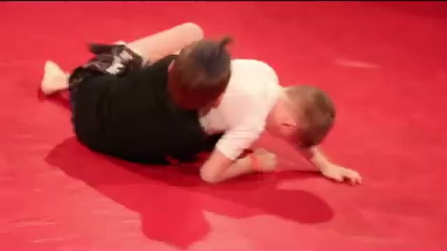 TOC 23 - Dalton Walters vs Brady Sark (7 yr old Grappling Expo)