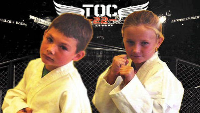 TOC 22 - Jeremiah Caviness VS Kayden Walters  (Youth Expo Bout)