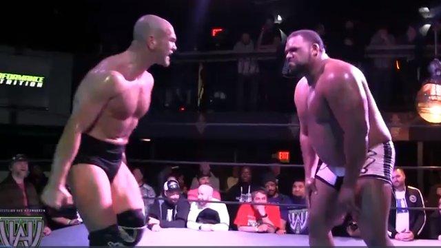 FREE MATCH: Keith Lee vs Martin Stone aka Danny Burch (WHAT! Wrestling)
