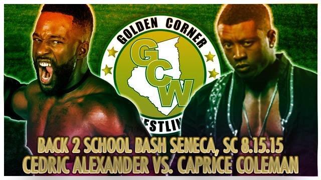Cedric Alexander vs. Caprice Coleman