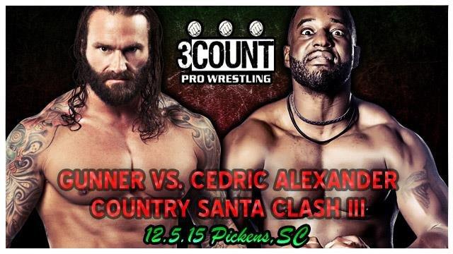 Cedric Alexander vs. Gunner