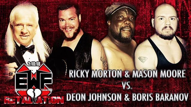 Ricky Morton and Mason Moore vs. Deon Johnson and Boris Baranov