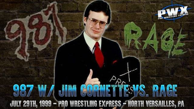 Boomer Payne and Big Poppa Gator with Jim Cornette and CK Fortune vs. Samu and Quinn Magnum
