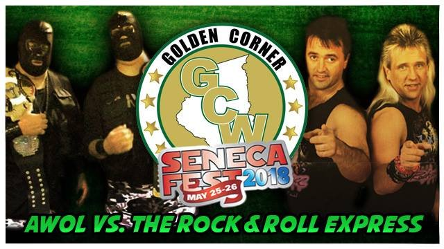 The Rock N Roll Express vs. Awol #2 and the Barbarian