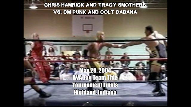 Chris Hamrick and Tracy Smothers vs. CM Punk and Colt Cabana