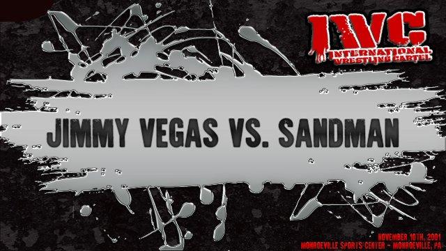 Jimmy Vegas vs. The Sandman