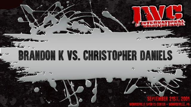 Brandon K vs. Christopher Daniels