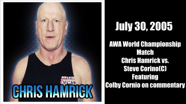 Chris Hamrick vs. Steve Corino