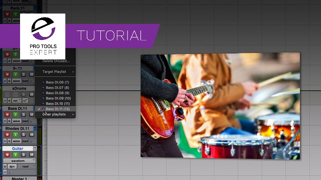 Tutorial - Is Adding A New Track After Several Takes Using Playlists In Pro Tools A Problem?