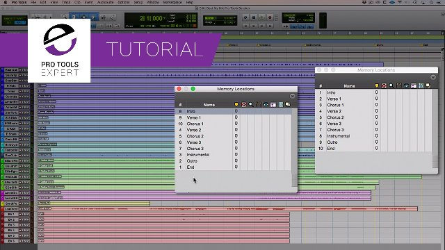 How To Automatically Sort And Renumber Markers Into Timeline Order In Pro Tools