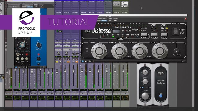 Mixing With UAD And Pro Tools - How You Can Quickly Compare Kick And Snare Parallel Processing Chains - Expert Tutorial.
