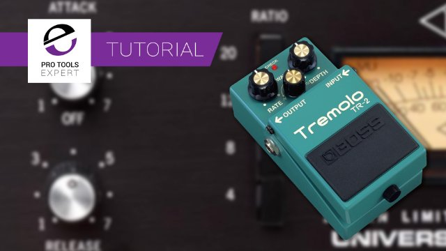 Compressor Attack And Release Times And Non-Percussive Sounds. Can You Undo Tremolo With Compression?
